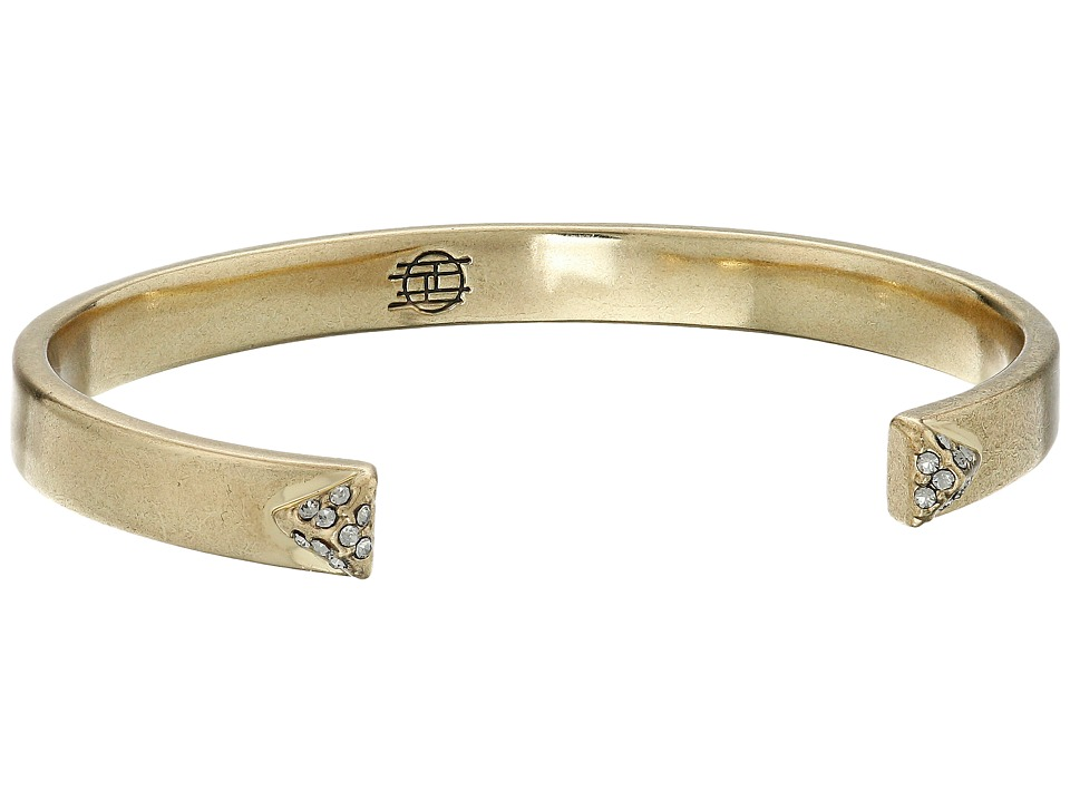 House of Harlow 1960 - Dakota Cuff Bracelet (Gold) Bracelet