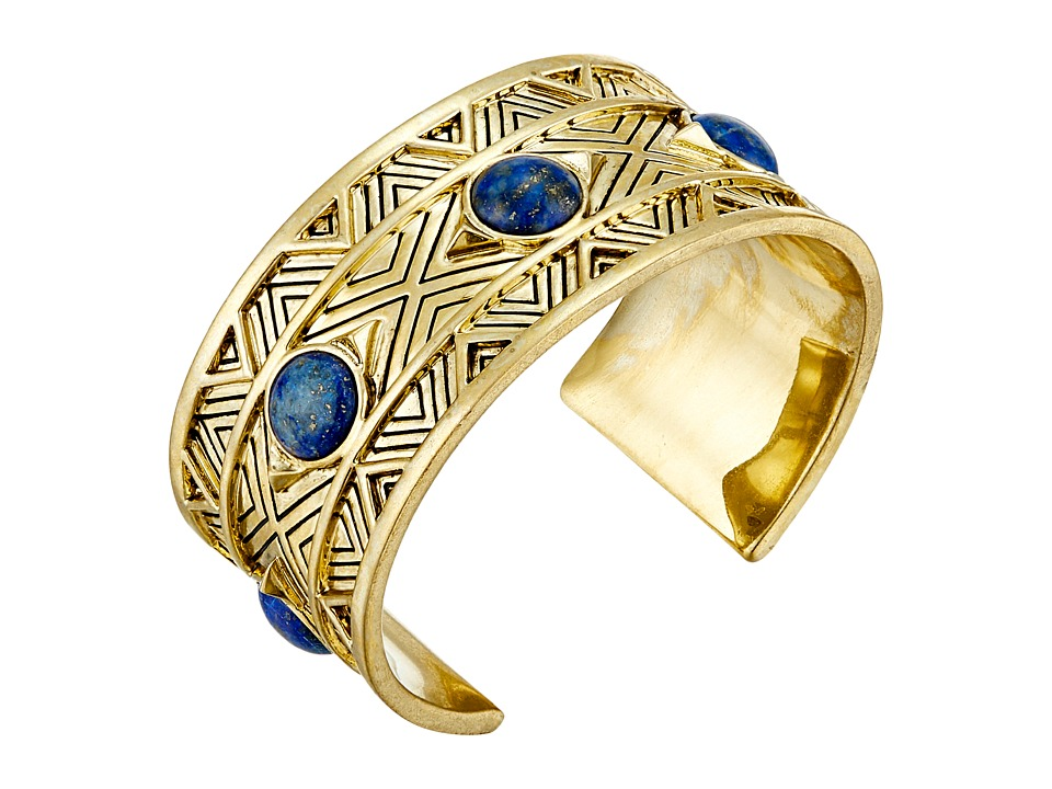 House of Harlow 1960 - Dorelia Statement Cuff Bracelet (Blue) Bracelet