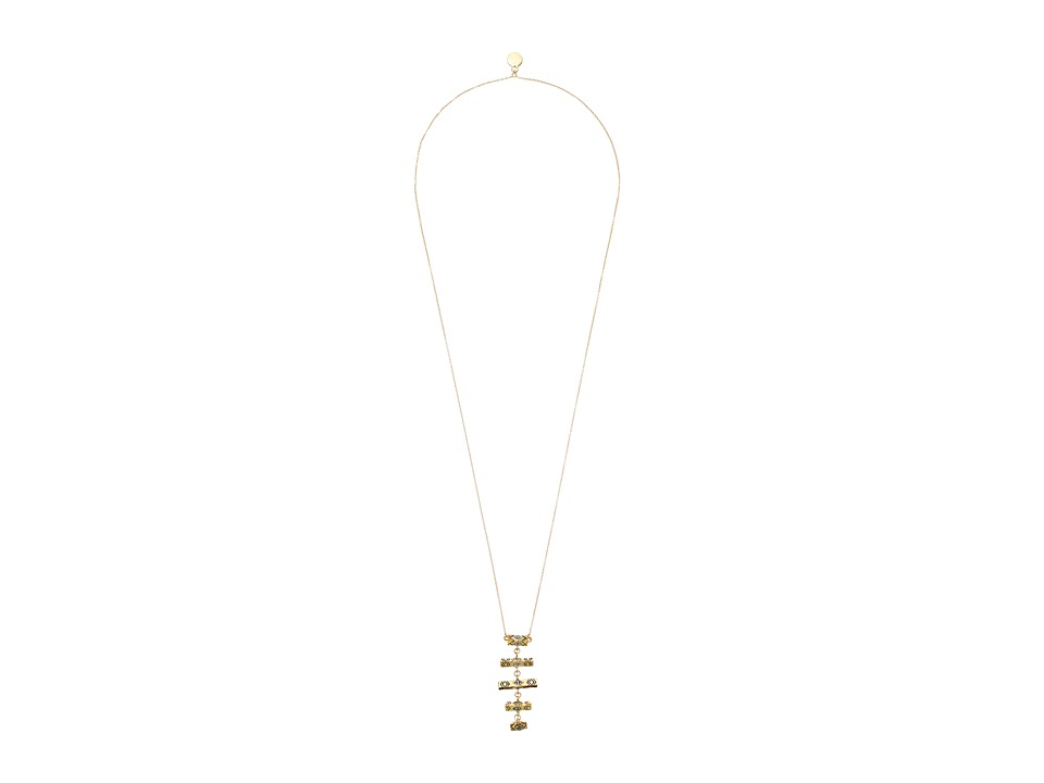 House of Harlow 1960 - Anza Pendant Necklace (Gold) Necklace