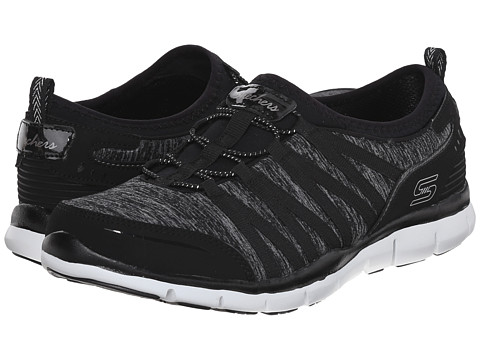 SKECHERS - Gratis - Shake-It-Off (Black 1) Women's Lace up casual Shoes