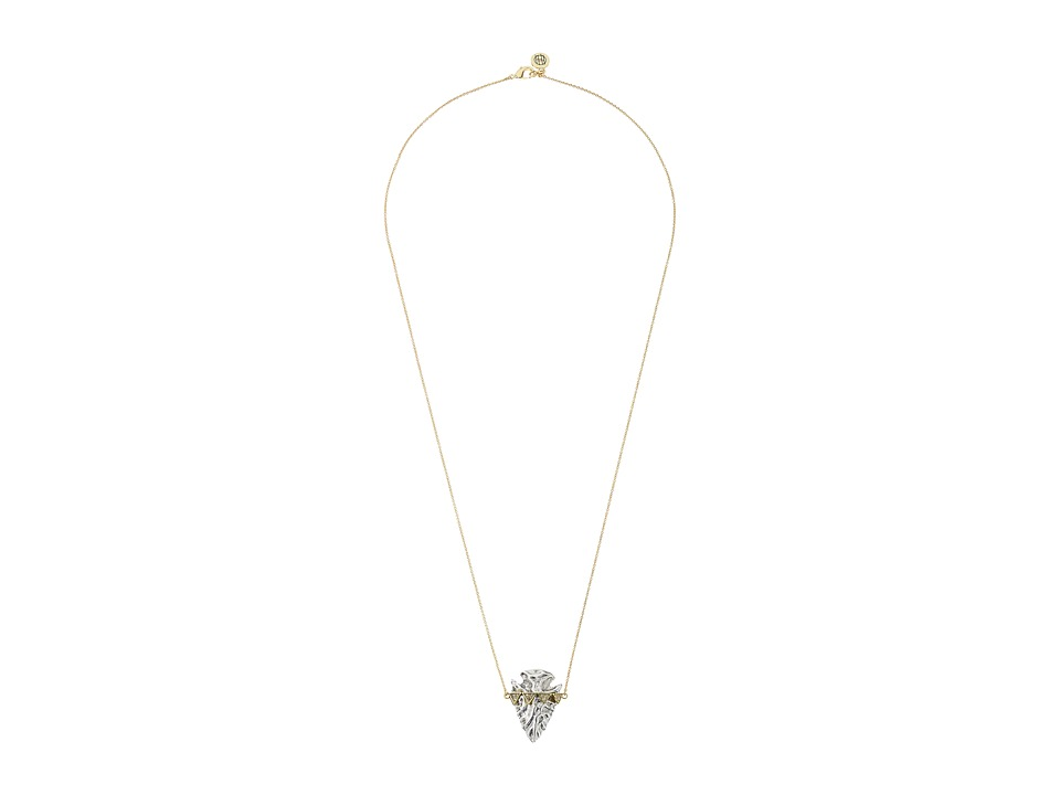 House of Harlow 1960 - Mojave Pendant Necklace (Silver) Necklace