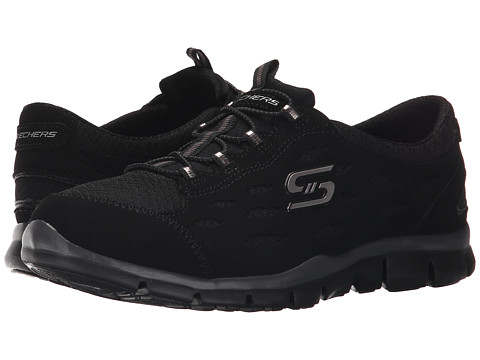 SKECHERS - Gratis - Full-Circle (Black) Women's Lace up casual Shoes
