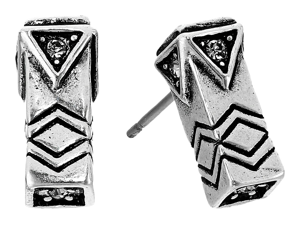 House of Harlow 1960 - Anza Stud Earrings (Silver) Earring
