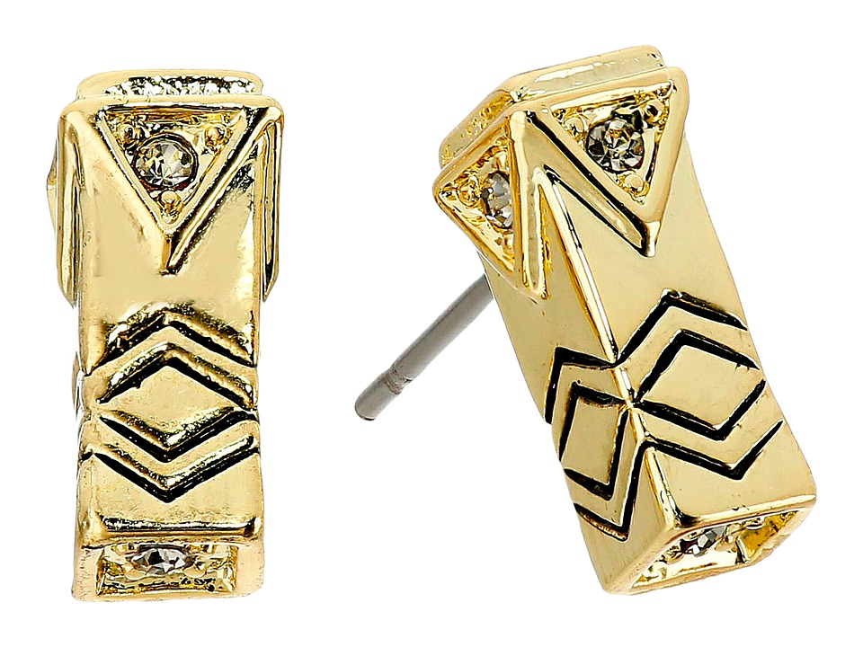 House of Harlow 1960 - Anza Stud Earrings (Gold) Earring