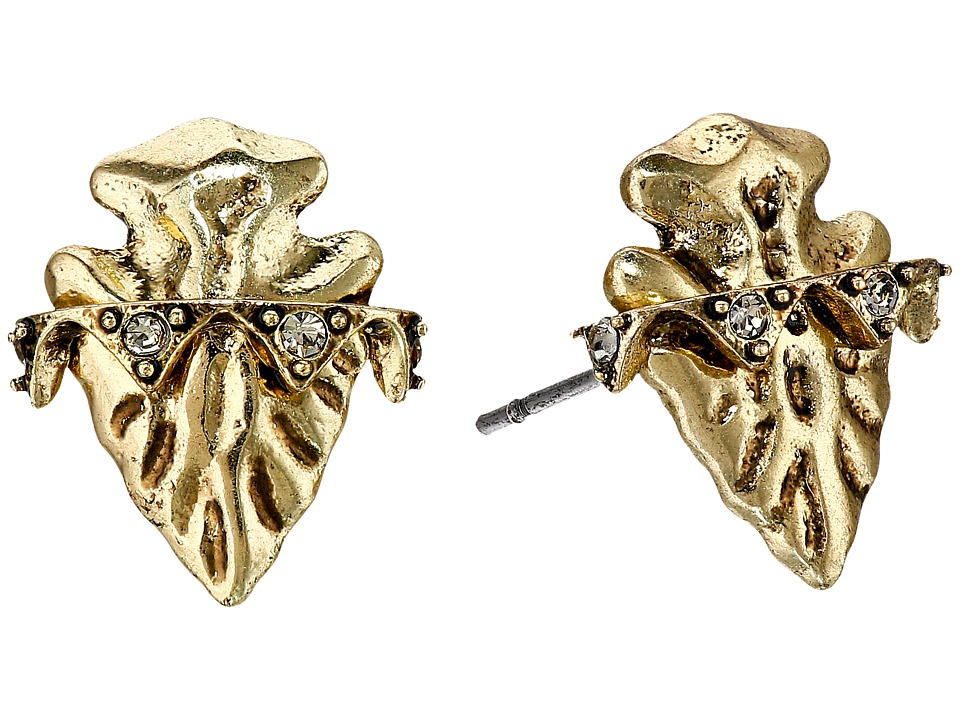 House of Harlow 1960 - Mojave Stud Earrings (Gold) Earring