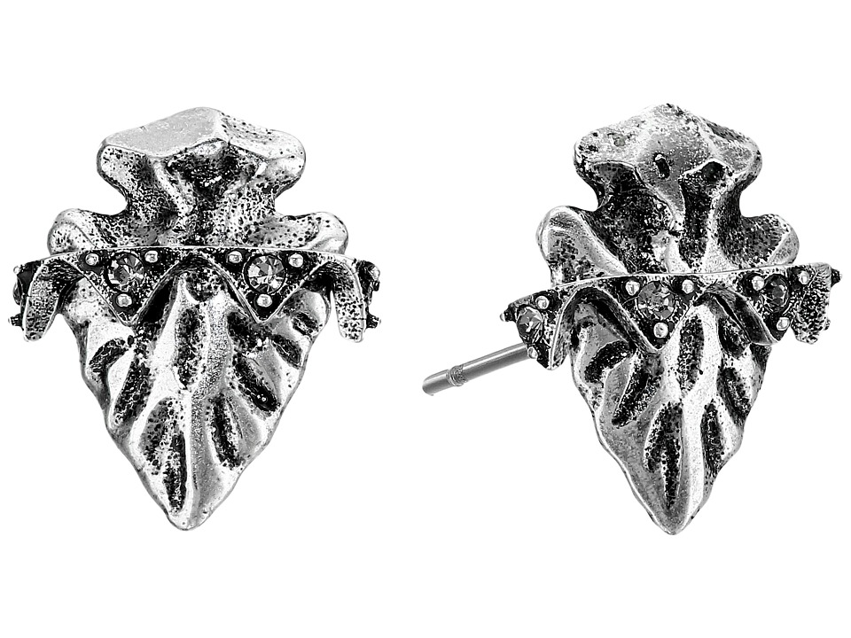 House of Harlow 1960 - Mojave Stud Earrings (Silver) Earring
