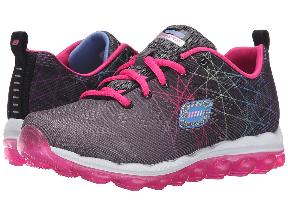 SKECHERS KIDS - Skech Air 80344L (Little Kid/Big Kid) (Black/Multi) Girls Shoes