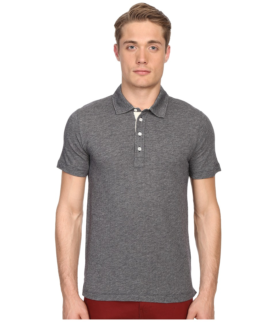 Billy Reid - Smith Polo (Navy/Light Grey) Men's Clothing