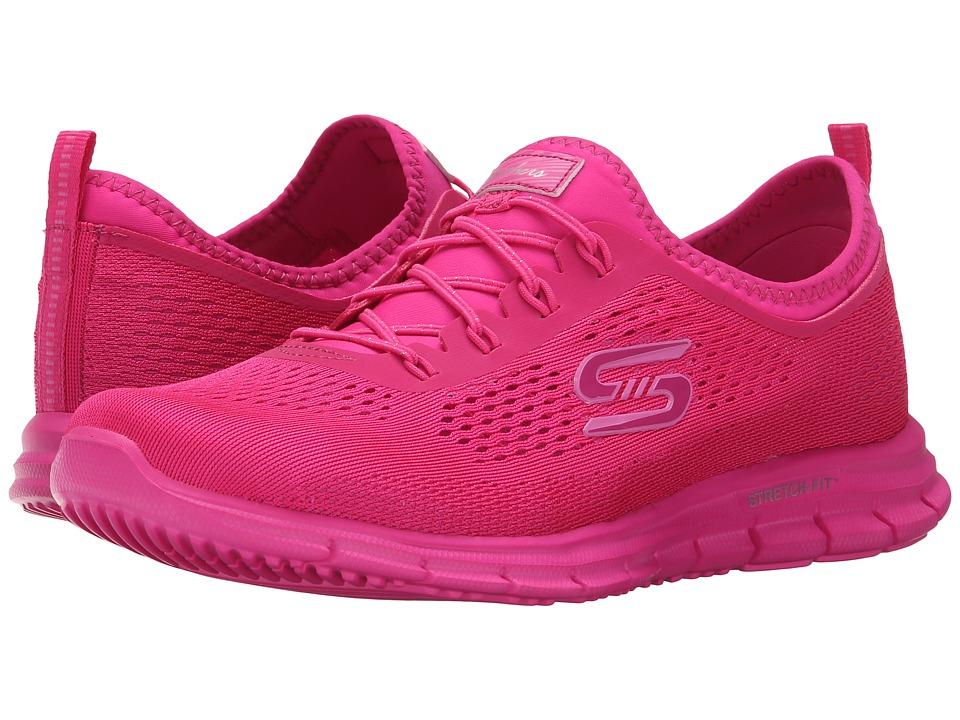 SKECHERS - Glider - Pop (Navy/Pink) Women