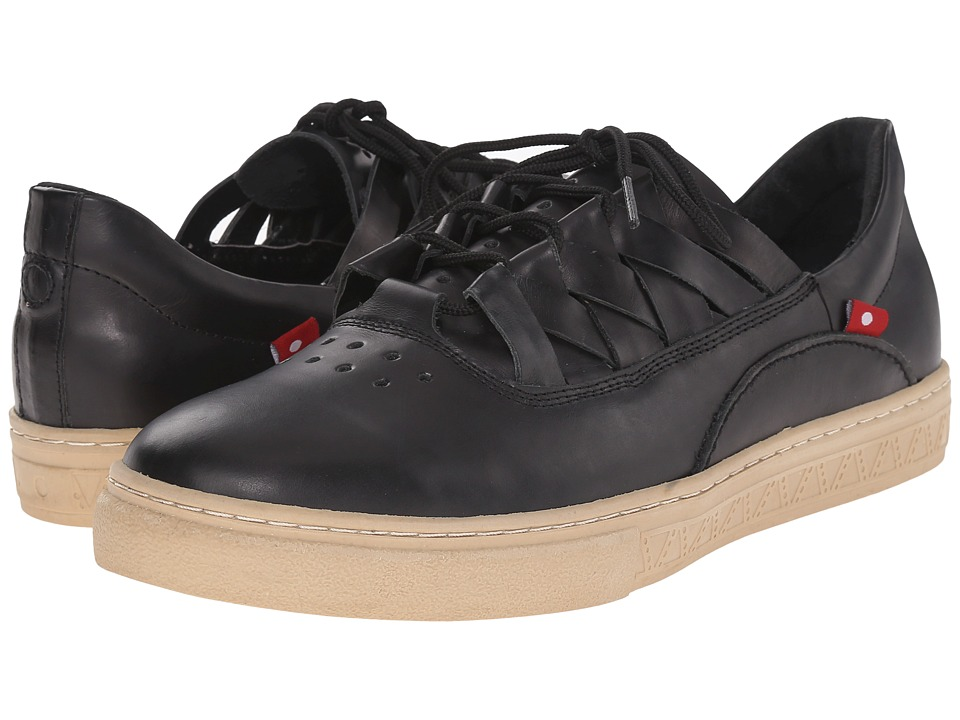 Oliberte - Dakugo (Black/Grey Pullup) Men's Shoes