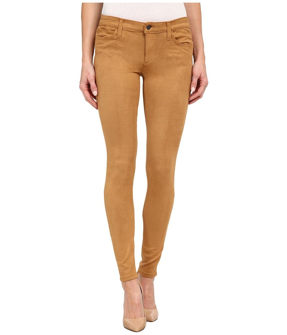Joe's Jeans - Flawless Suede Icon Skinny in Camel (Camel) Women's Jeans