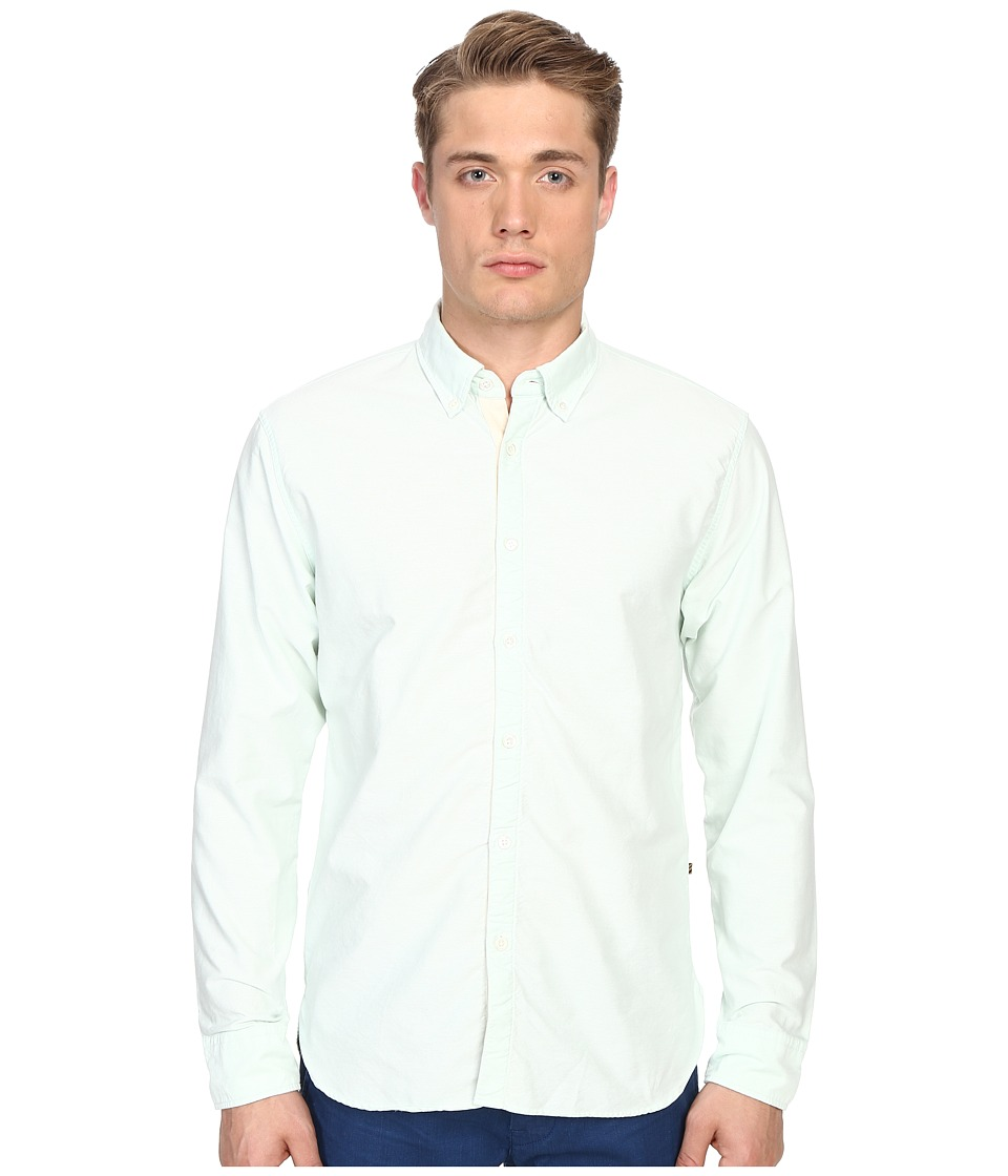 Billy Reid - Oxford Shirt (Aloe Green) Men's Sweater