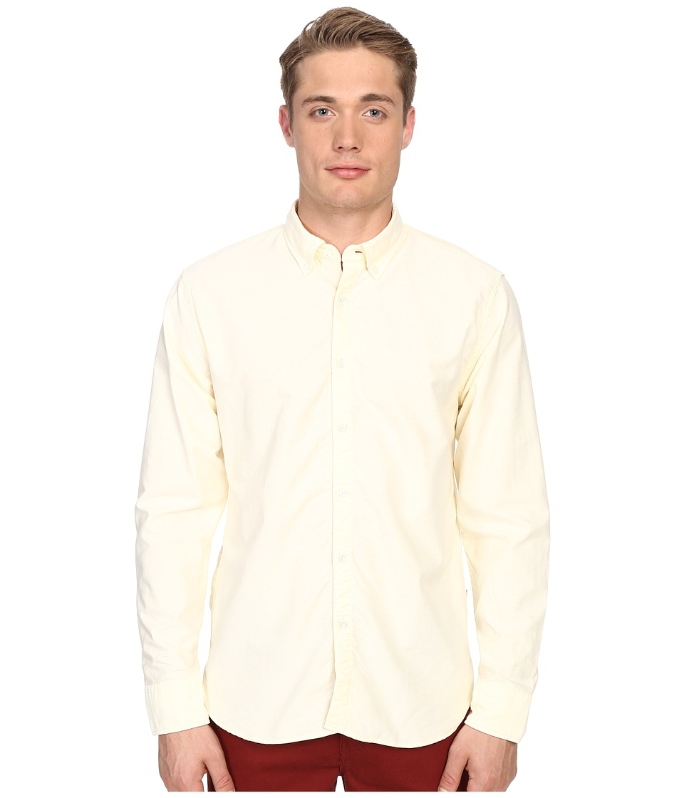 Billy Reid - Oxford Shirt (Pale Yellow) Men
