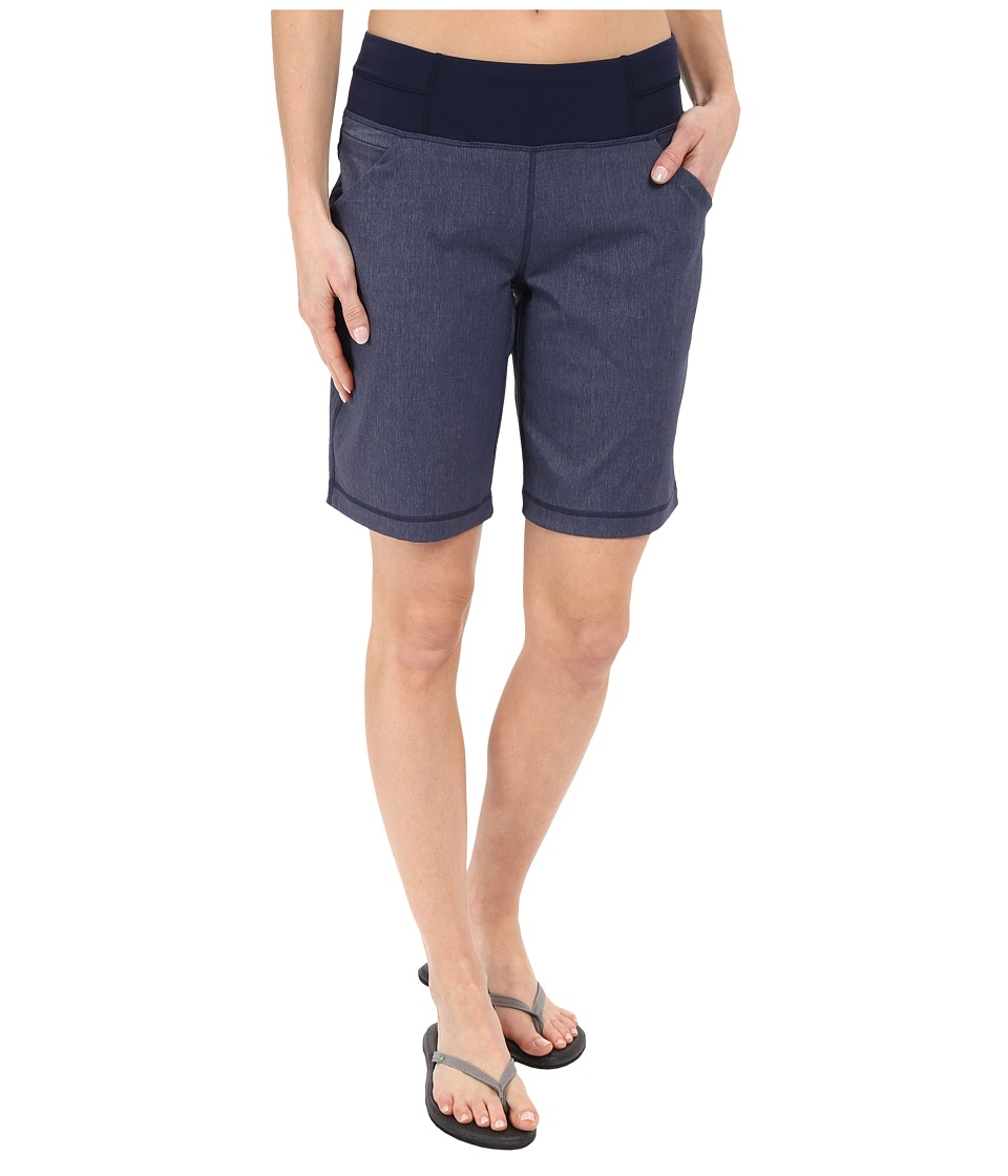 Lucy - Do Everything Bermuda (Lucy Navy Heather) Women's Shorts