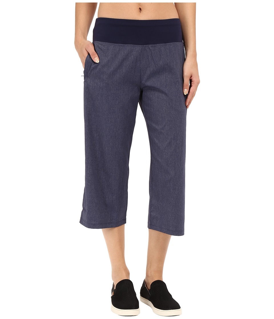 Lucy - Do Everything Capris (Lucy Navy Heather) Women's Capri