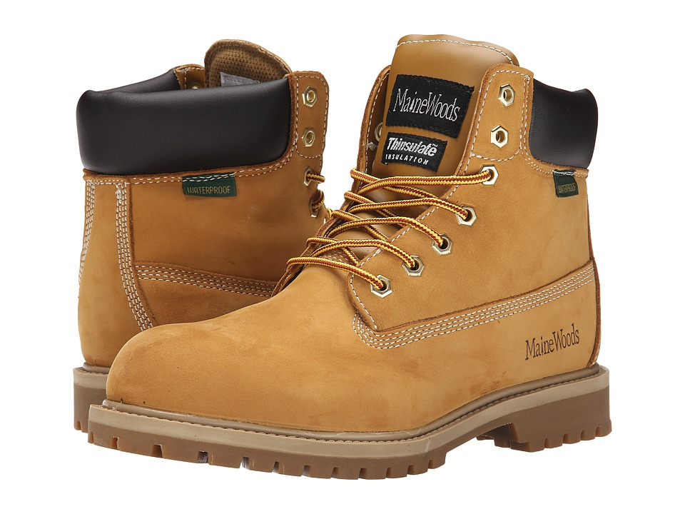 Maine Woods - Rocky (Wheat) Men's Boots