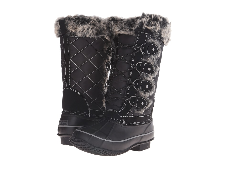 Maine Woods - Nicole (Black) Women's Boots