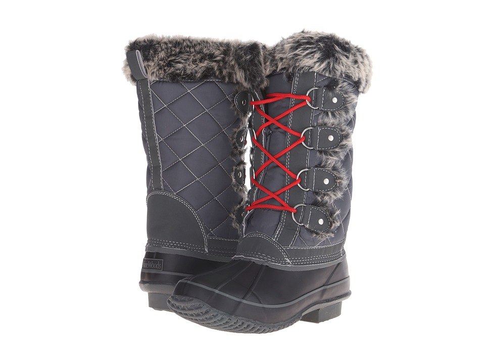 Maine Woods - Nicole (Grey) Women's Boots