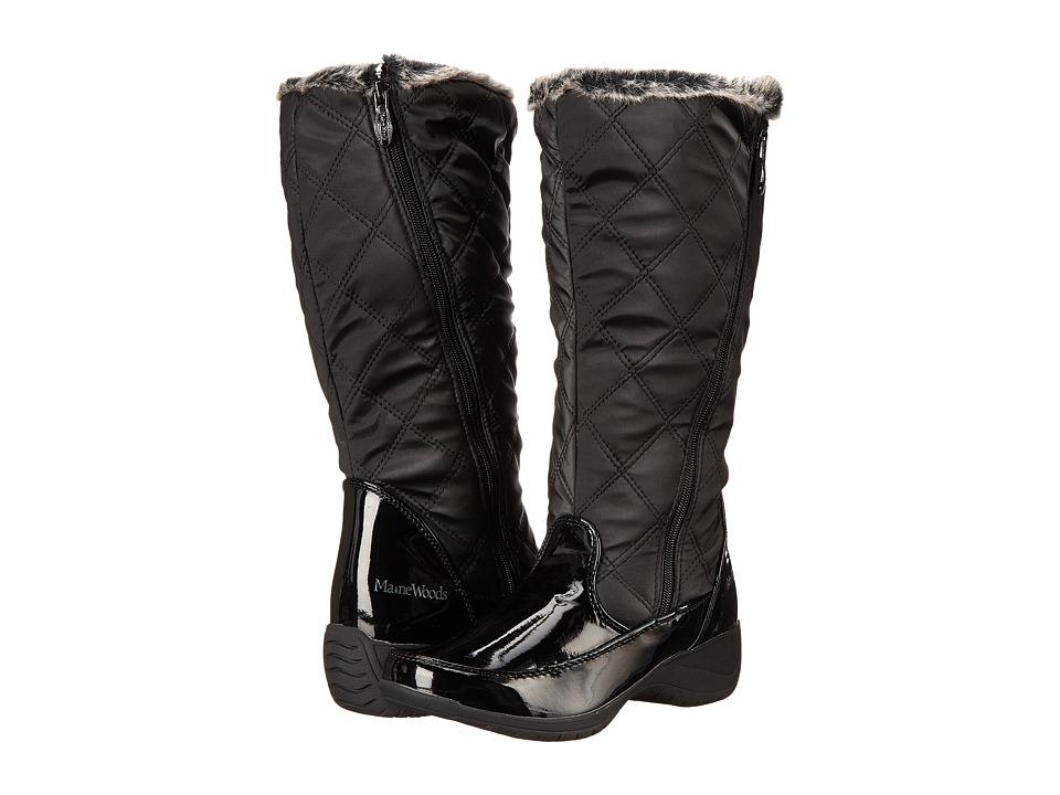 Maine Woods - Jw-2250 (Black) Women's Zip Boots