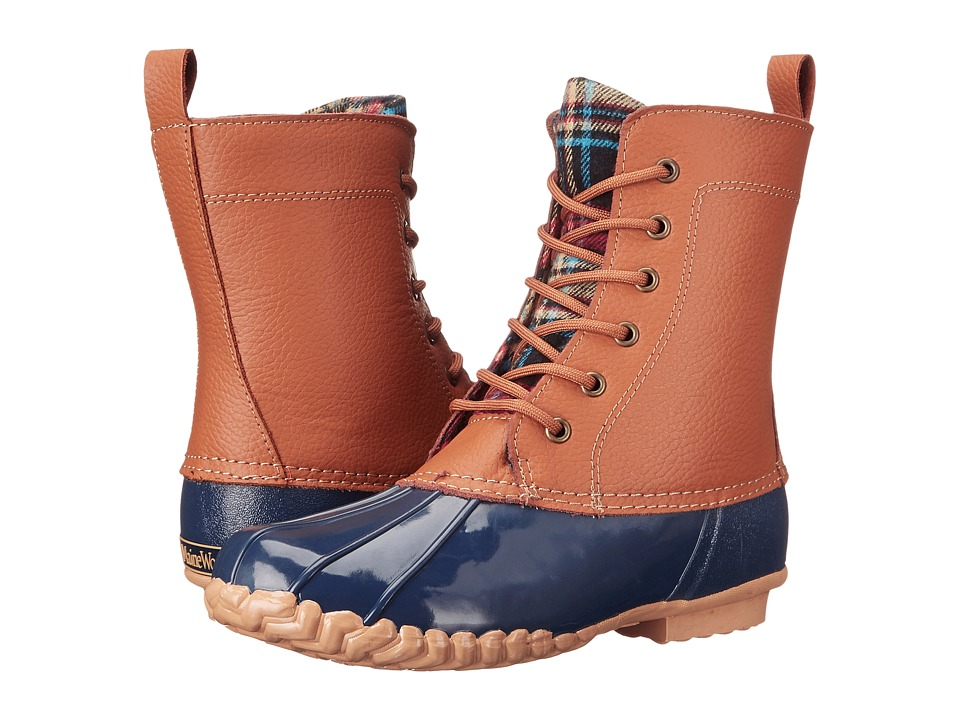 Maine Woods Lani (Tan/Navy) Women