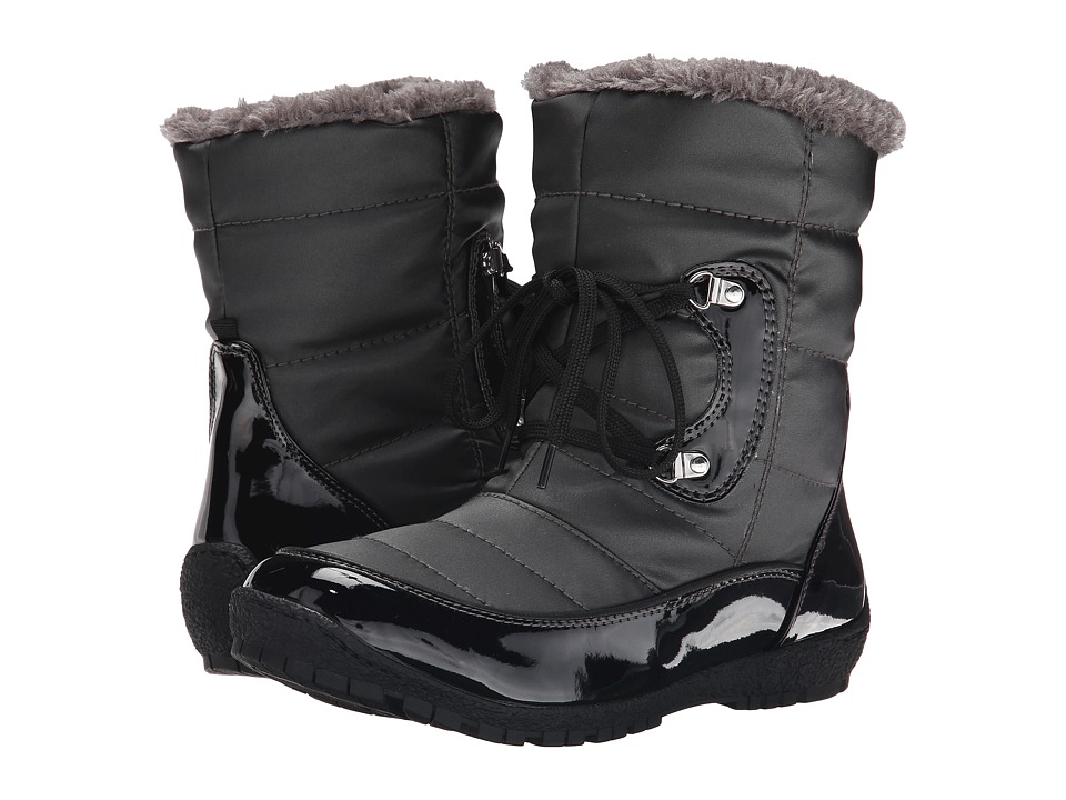 Maine Woods - Kimberely (Black/Dark Pewter) Women's Boots