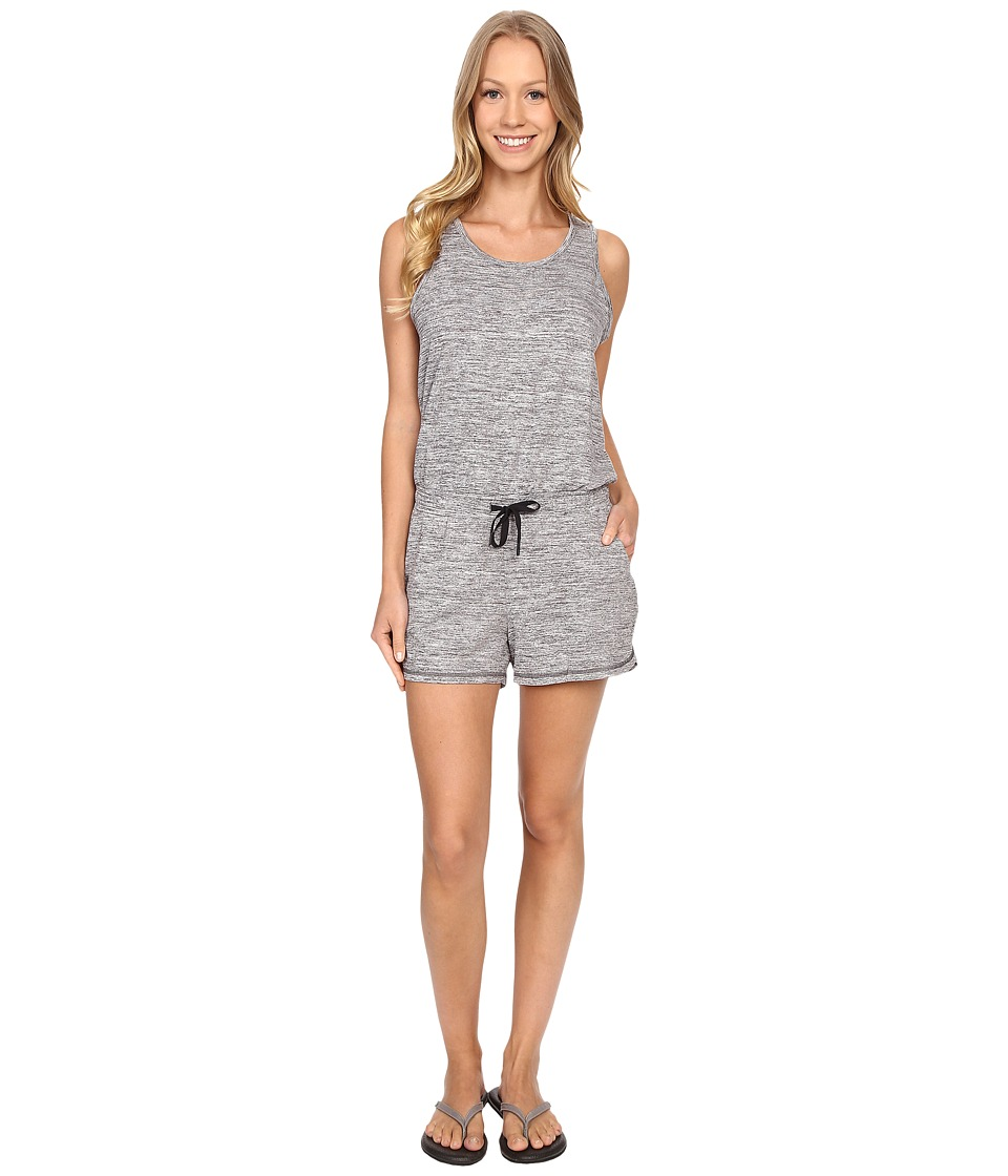 Lucy - Destination Anywhere Romper (Lucy Black Heather) Women's Jumpsuit & Rompers One Piece