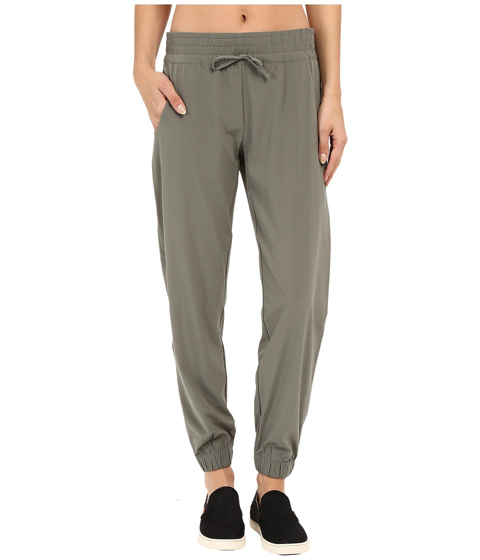 Lucy - Do Everything Cuffed Pant (Moss Green) Women's Casual Pants