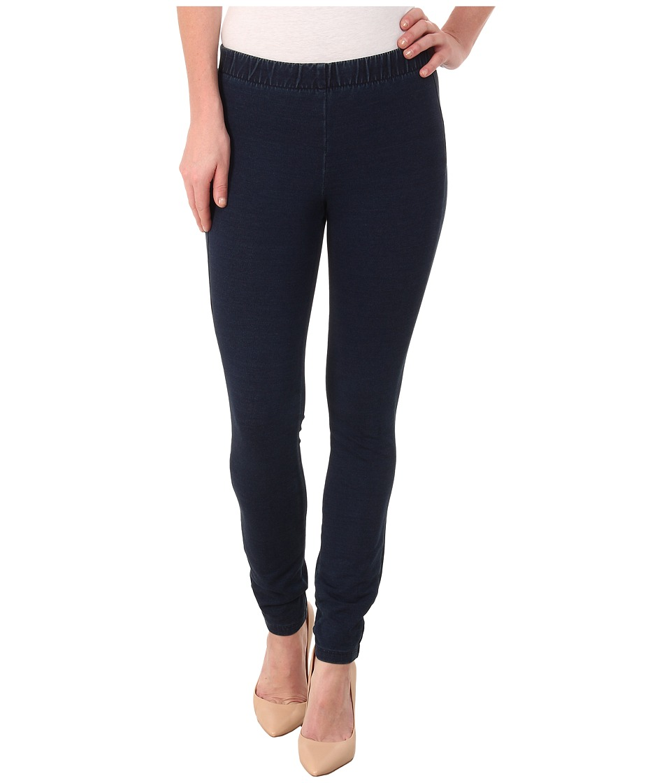 Miraclebody Jeans - French Terry Leggings (Indigo Blue) Women