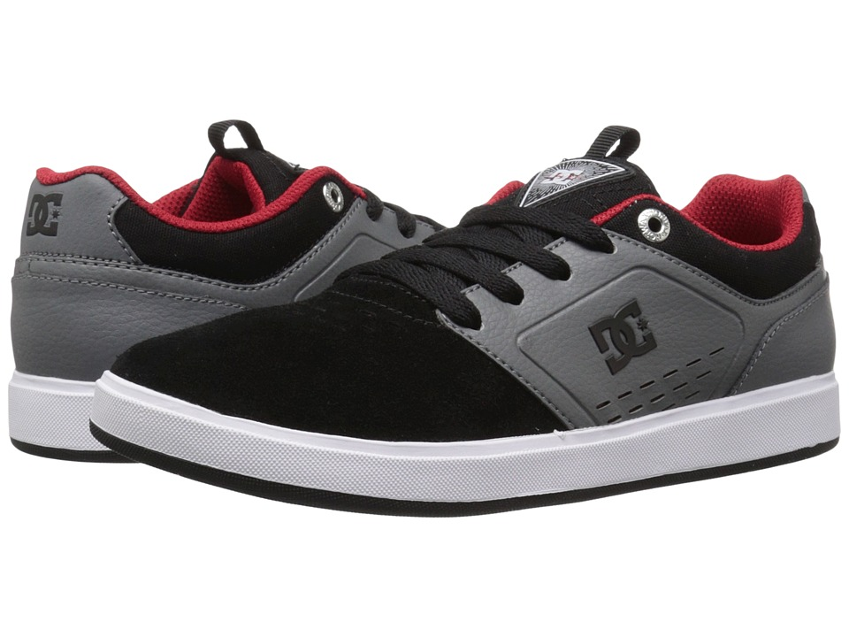 DC Kids - Cole Signature (Big Kid) (Black/Grey/Red) Boys Shoes