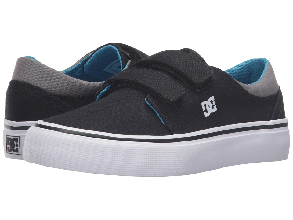 DC Kids - Trase V (Big Kid) (Black/Ocean) Boys Shoes