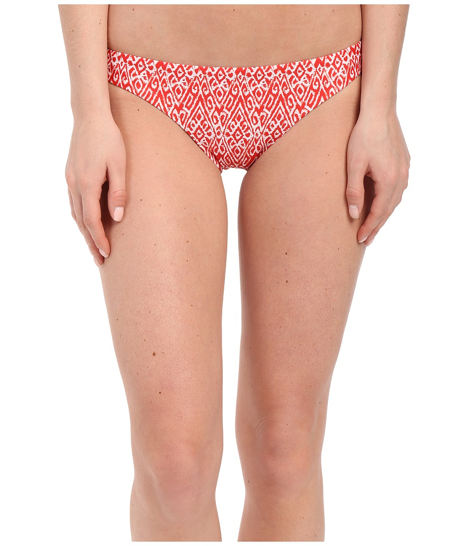 Shoshanna - Kilim Ikat Classic Bottoms (Red/White) Women's Swimwear