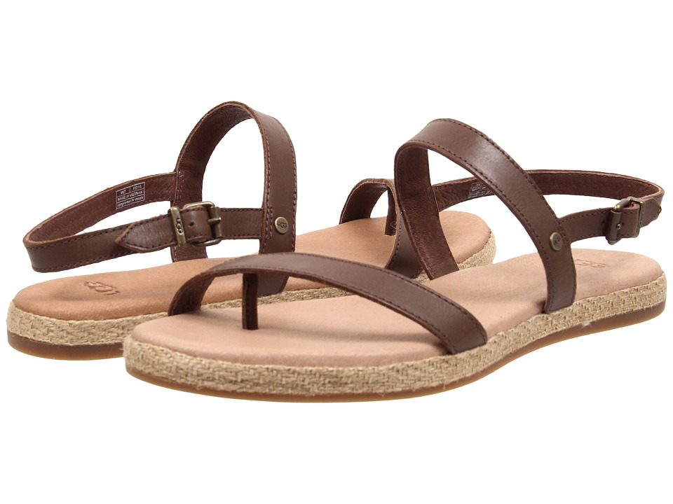 UGG - Brylee (Chocolate Leather) Women's Dress Sandals