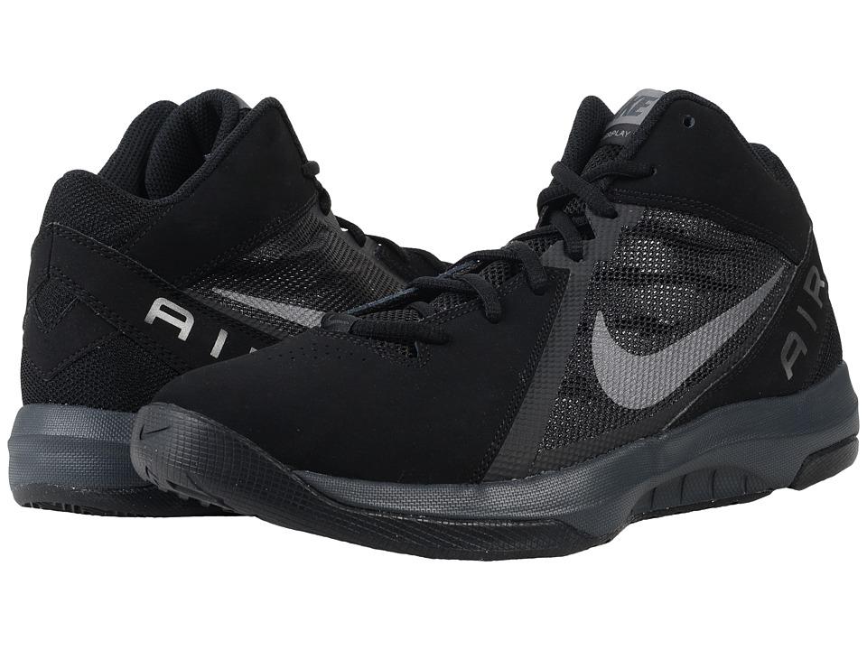 Nike - The Air Overplay IX NBK (Black/Anthracite/Metallic Dark Grey) Men's Basketball Shoes