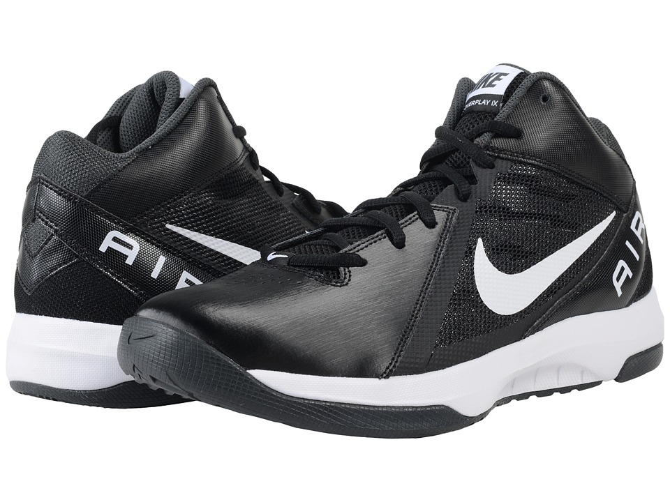 Nike - The Air Overplay IX (Black/Anthracite/Dark Grey/White) Men's Basketball Shoes