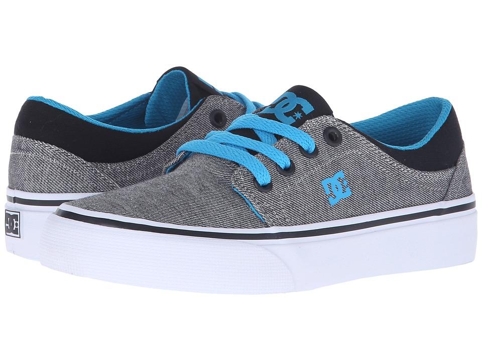 DC Kids - Trase TX SE (Big Kid) (Grey Heather) Boys Shoes