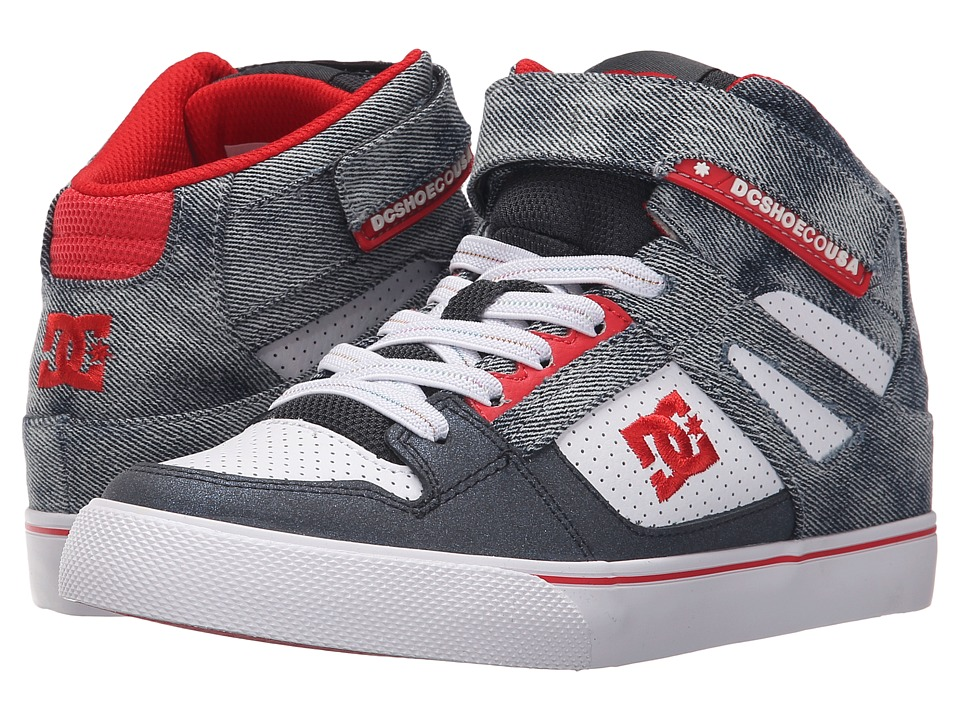 DC Kids - Spartan High SE EV (Big Kid) (Destroy Indigo) Boys Shoes