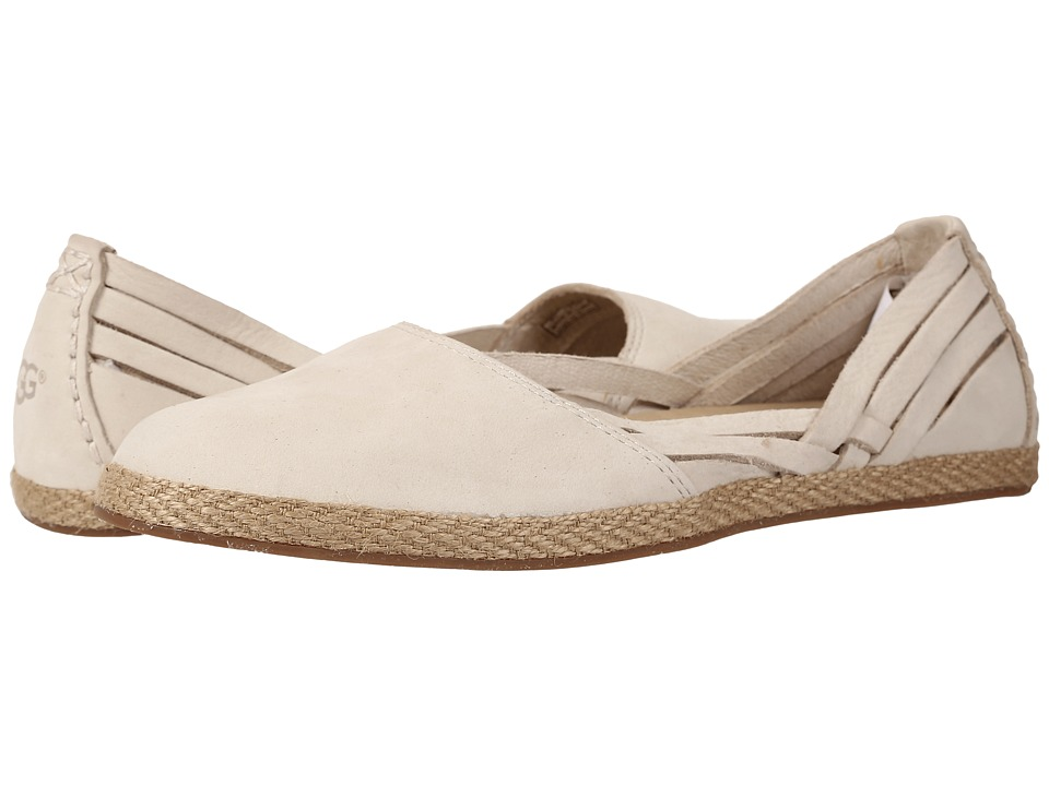 UGG - Tippie (Antique White Nubuck) Women's Flat Shoes