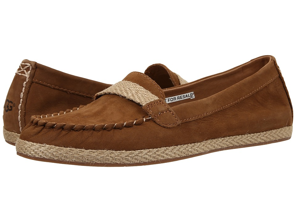 UGG - Rozie (Chestnut Nubuck) Women's Flat Shoes