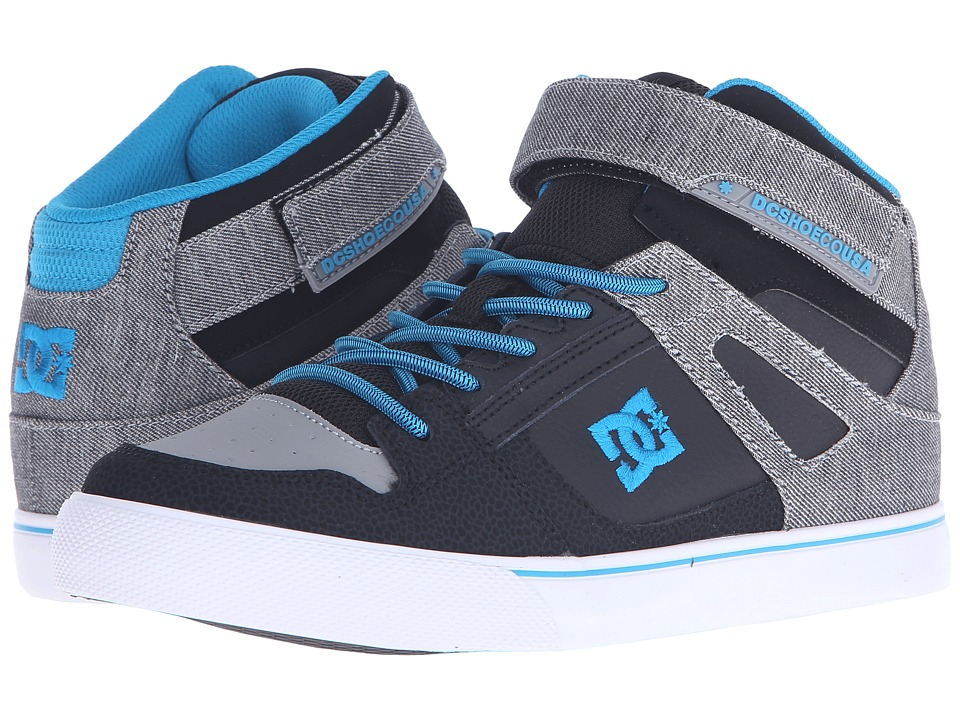 DC Kids - Spartan High SE EV (Big Kid) (Grey Heather) Boys Shoes