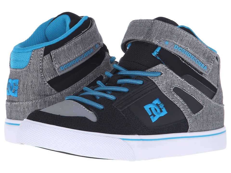 DC Kids - Spartan High SE EV (Little Kid) (Grey Heather) Boys Shoes