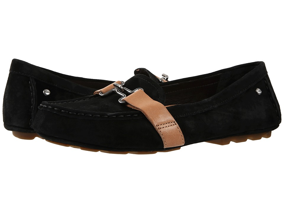 UGG - Aven (Black) Women's Flat Shoes