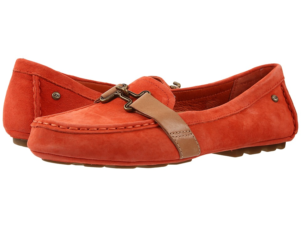 UGG - Aven (Hazard Orange) Women's Flat Shoes