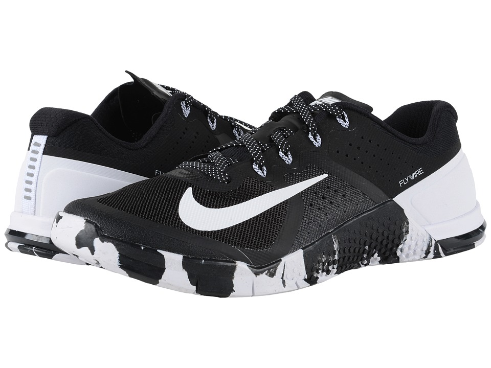 Nike - Metcon 2 (Black/White) Men's Cross Training Shoes