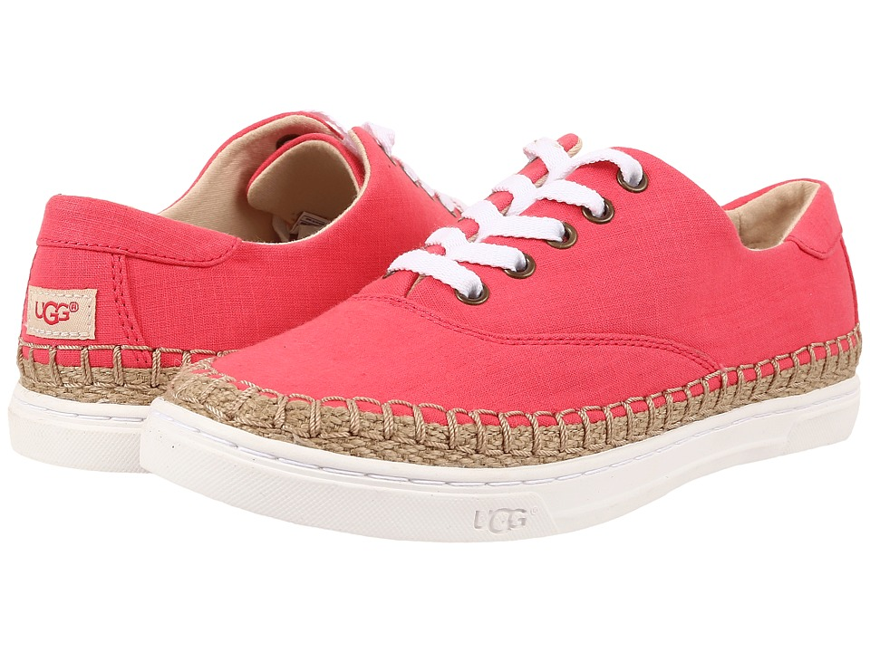 UGG - Eyan II (Sunset Red) Women's Lace up casual Shoes