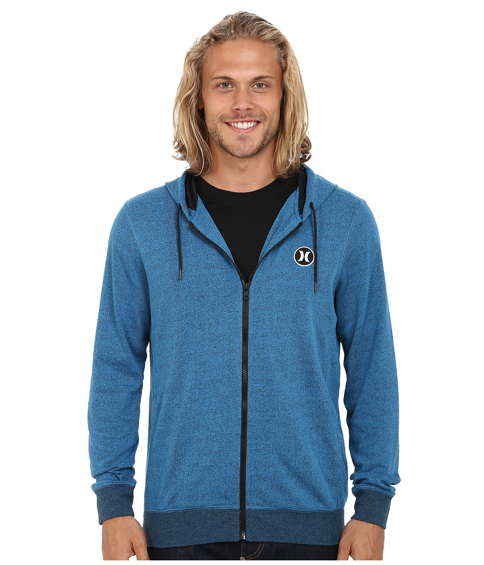 Hurley - Dri-Fit League Zip Fleece (Brigade Blue) Men's Fleece