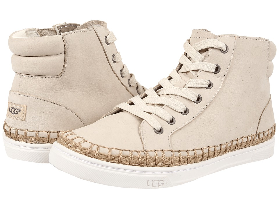 UGG - Gradie (Antique White Nubuck) Women's Lace up casual Shoes