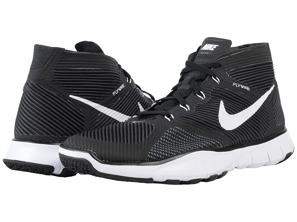 Nike - Free Train Instinct (Black/Dark Grey/White) Men's Cross Training Shoes