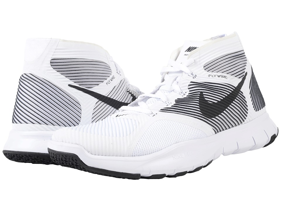 Nike - Free Train Instinct (White/Black) Men's Cross Training Shoes