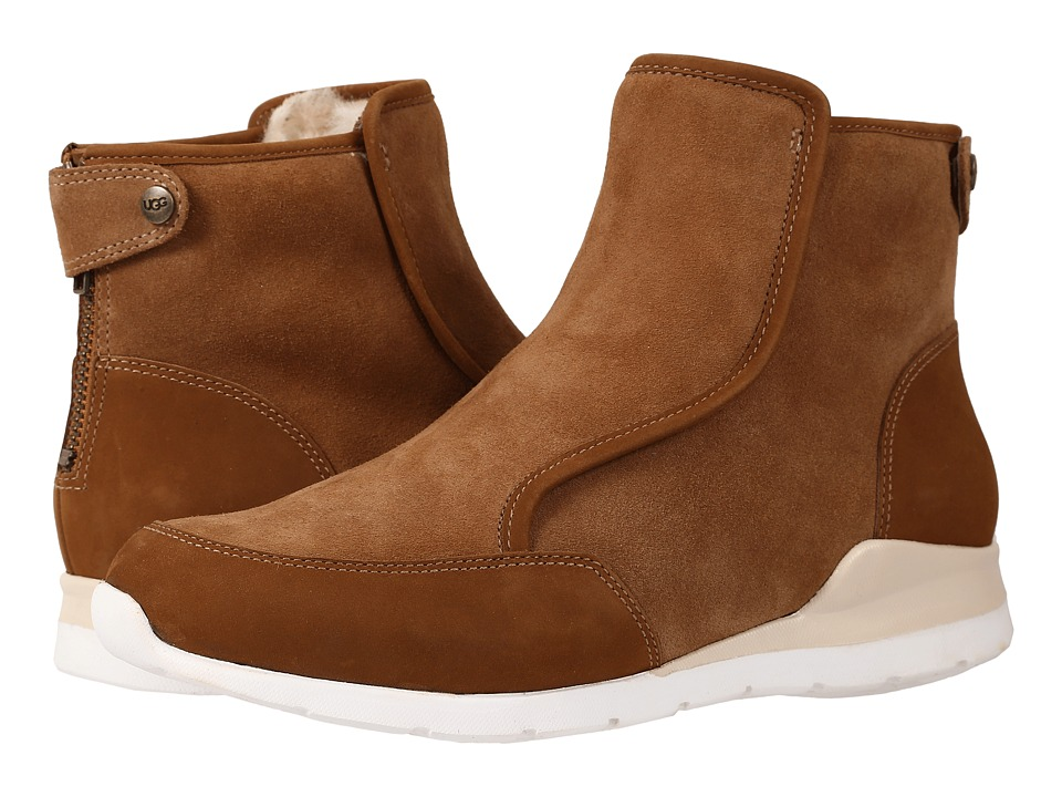 UGG - Laurelle (Chestnut Leather) Women's Zip Boots