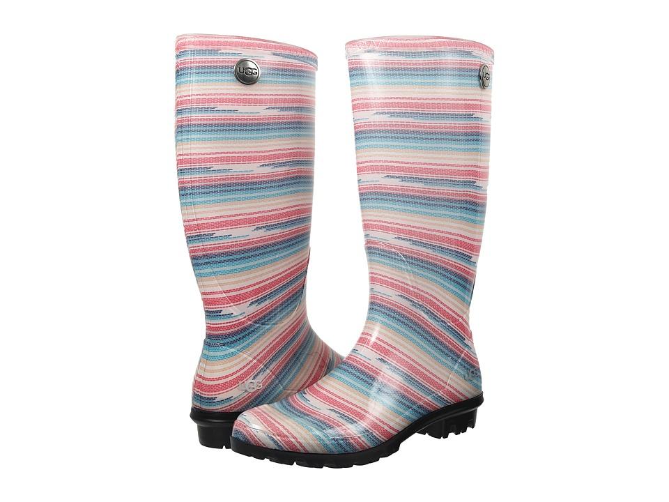 UGG - Shaye Serape (Seamist Rubber) Women's Pull-on Boots